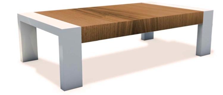 Mia home mesa de centro fija o elevable - Mesa centro extensible ...