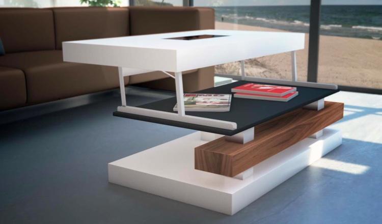 Tienda de muebles de terraza y jard n muebles modernos de - Mesa de centro elevable ...