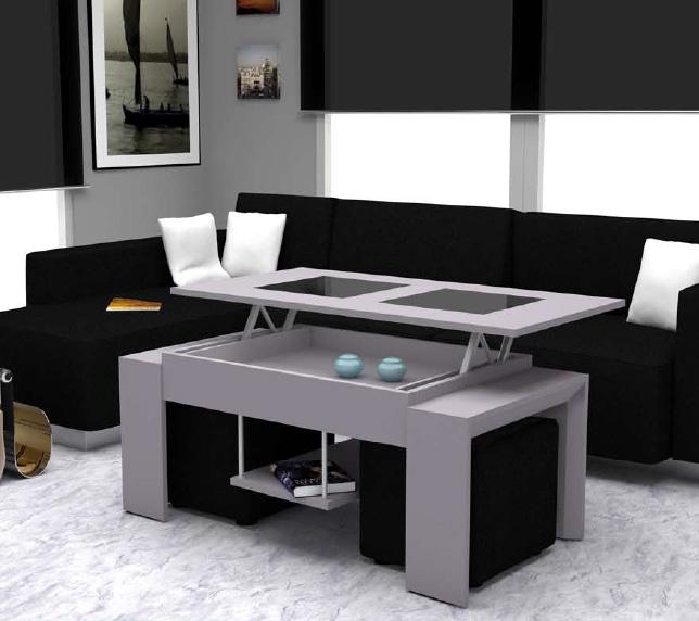 Mesas lacadas de centro para salon - Centros mesa salon ...