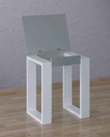 Pedestal con tapa plegable