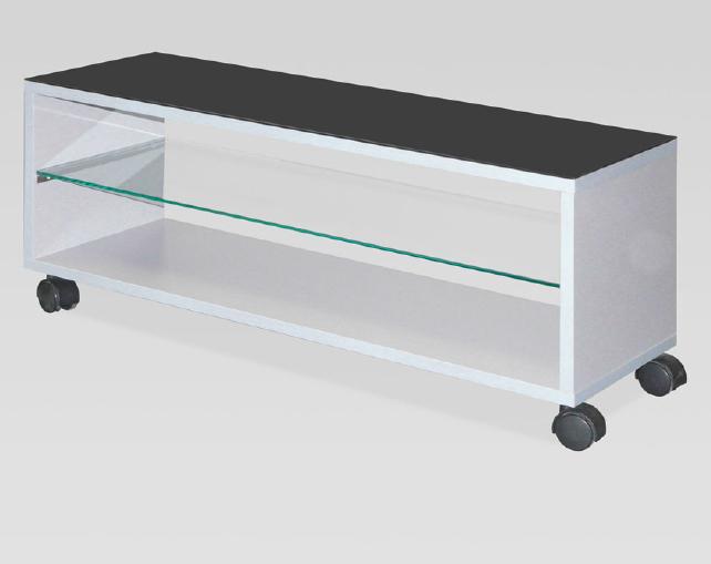 Mesa tv baja con cristales madera - Mesa baja cristal ...