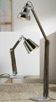 Lámpara de pie o sobremesa - Lámparas con brazo artículado