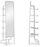 Espejo León - Espejo con estantería funcional.