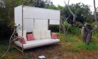 Lounge de exterior - Lounge (Tumbona) con dosel.