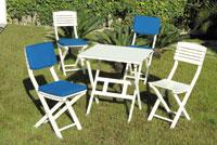 Set sillas o mesa madera modelo MALTA - Sillas MALTA
