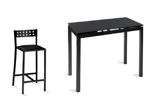 Mesa alta de cocina tipo barra for Mesas altas de cocina