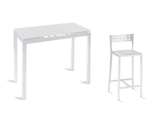 Mesa alta de cocina tipo barra mesas de cocina altas - Mesa de cocina alta ...
