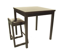 DUCTH extensible Dining table 90 X 90 - Mesa extensible