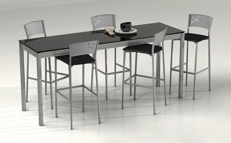 Mesa de cocina  configurable - Mesa de cocina con ruedas.