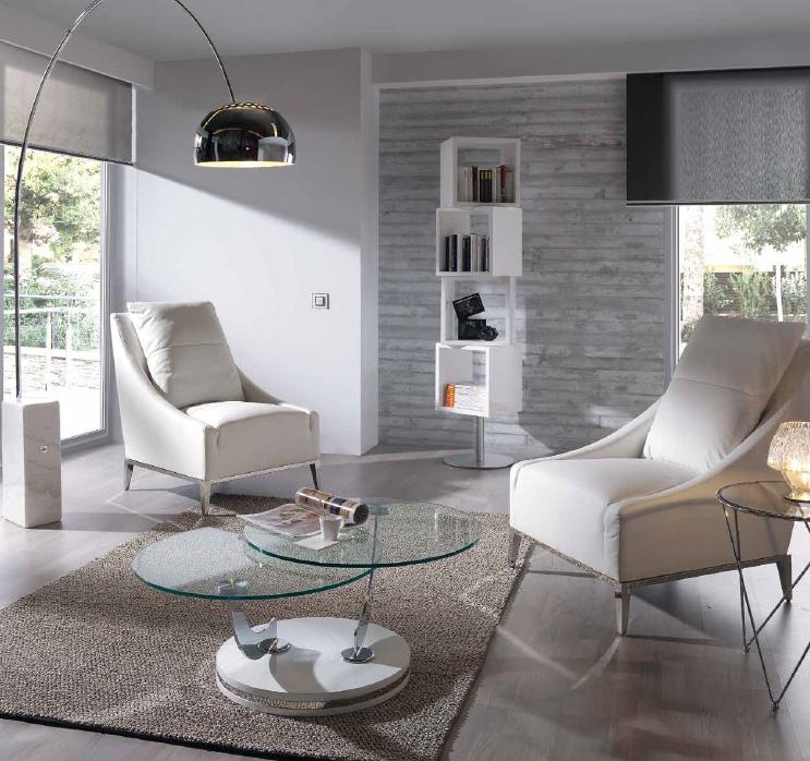 Mesa baja de sof dos tapas movibles for Mesas de centro de salon bajas