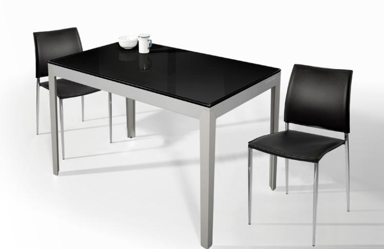 Mesa extensible moderna de cocina for Mesa cocina moderna