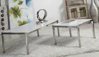 Mesa de centro o mesa auxiliar - Consola moderna inox