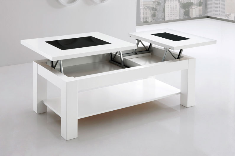 Mesa 2 tableros elevables extensible huesca teruel - Mesa plegable salon ...