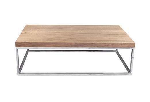 Mesa de centro moderna madera metal muebles madrid - Mesas modernas de centro ...