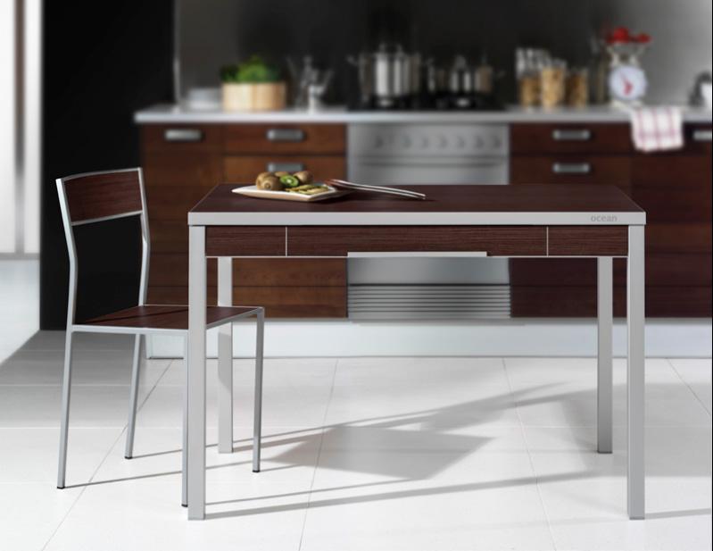 Mesa cocina moderna - Cocinas con mesas ...