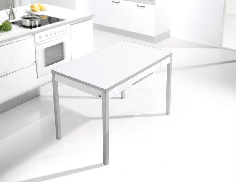 Mesa cocina moderna precio mesa cocina cristal extensible for Mesa cuadrada moderna