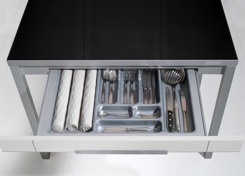 Mesa de cocina con cajón - Mesa de cocina FUSION