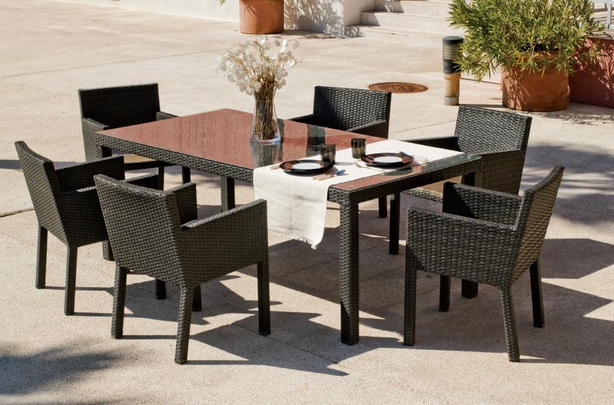 Sillones para jardin exterior conjunto de sofs exterior for Conjunto sillones exterior