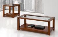 Mesa centro chapa Haya 4 - Mesa de centro (elevable a elegir) madera Haya