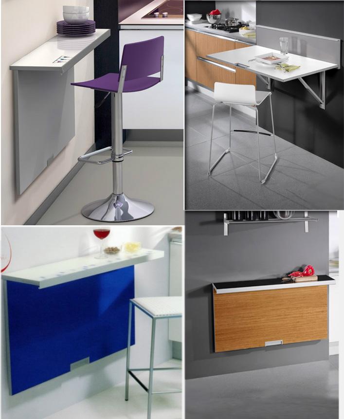 Mesas cocina plegables pared mesa de cocina plegable mco for Mesa abatible cocina
