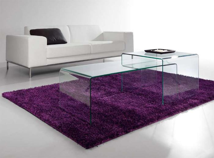 Mesas transparentes de sof tarragona for Mesas de metacrilato ikea