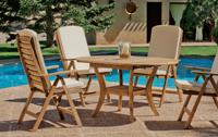 Set sillas y mesa madera modelo ABERDIN - Set sillas y mesa madera modelo ABERDIN