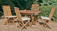 Set sillas y mesa madera modelo seroni - Set sillas y mesa madera modelo SERONI