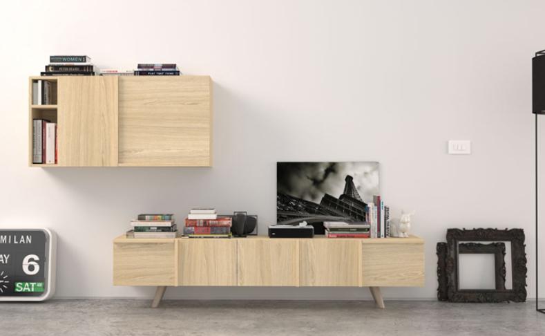 Mia home muebles nordic madera lacada barcelona madrid for Muebles de roble precios