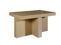 Mesa de madera de comedor extensible