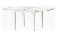 Set sillas y mesa extensible estructura aluminio modelo MANTUA - Set sillas y mesa extensible estructura aluminio modelo MANTUA