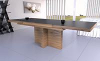 Mesa extensible en chapa modelo Jacky - Mesa de comedor extensible en chapa varios colores