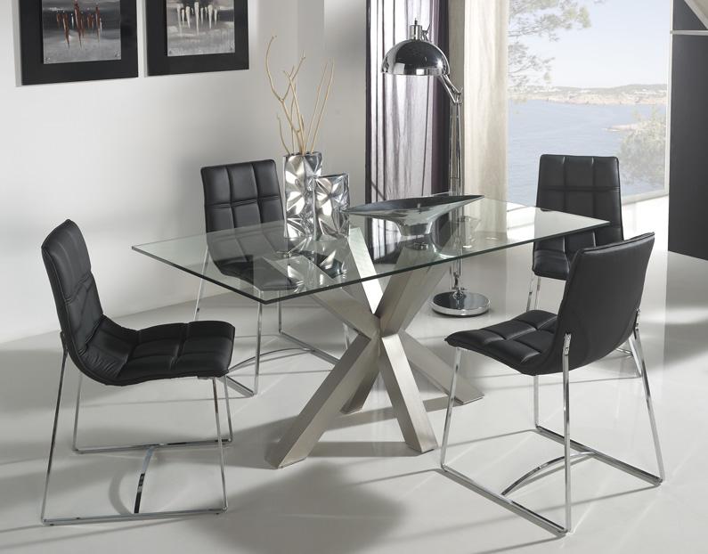 Patas de acero para mesa de comedor for Mesas para comedores pequea os