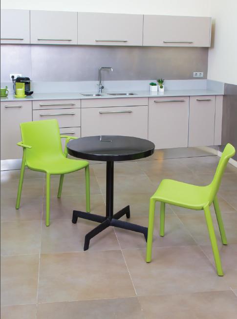 Mesa exterior interior redonda cocina comedor exterior - Mesa cocina diseno ...