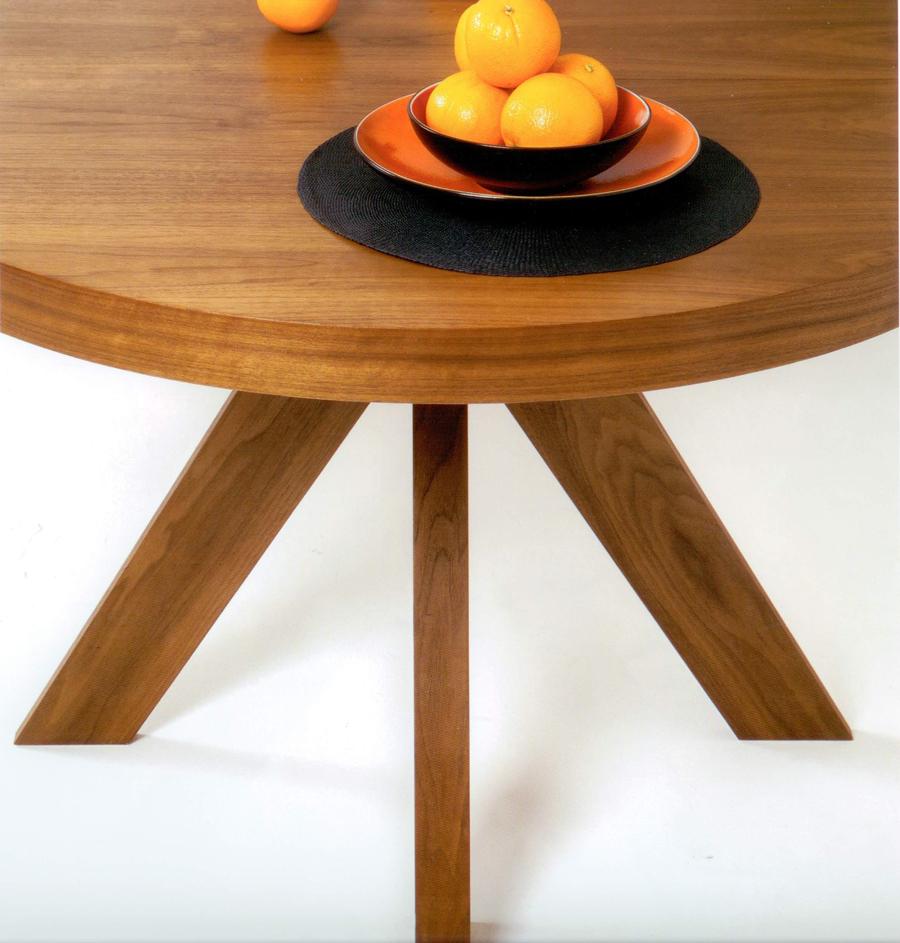 mesa comedor pie central