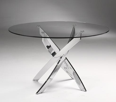 Mesa de comedor de acero