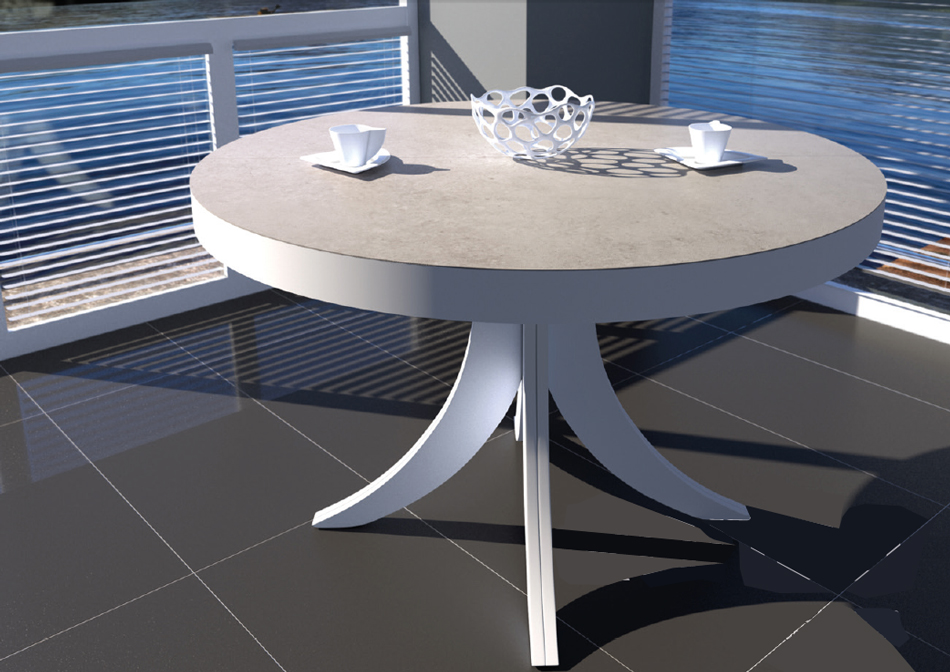 mesa extensible redonda de comedor madrid