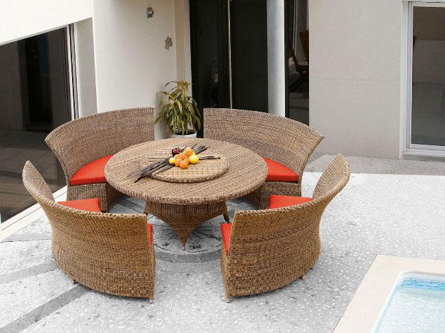 Conjunto exterior rattan sillas barcelona - Leroy merlin cubreradiadores ...