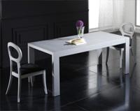 Mesa de madera extensible 2 - Mesa de comedor extensible de estilo moderno