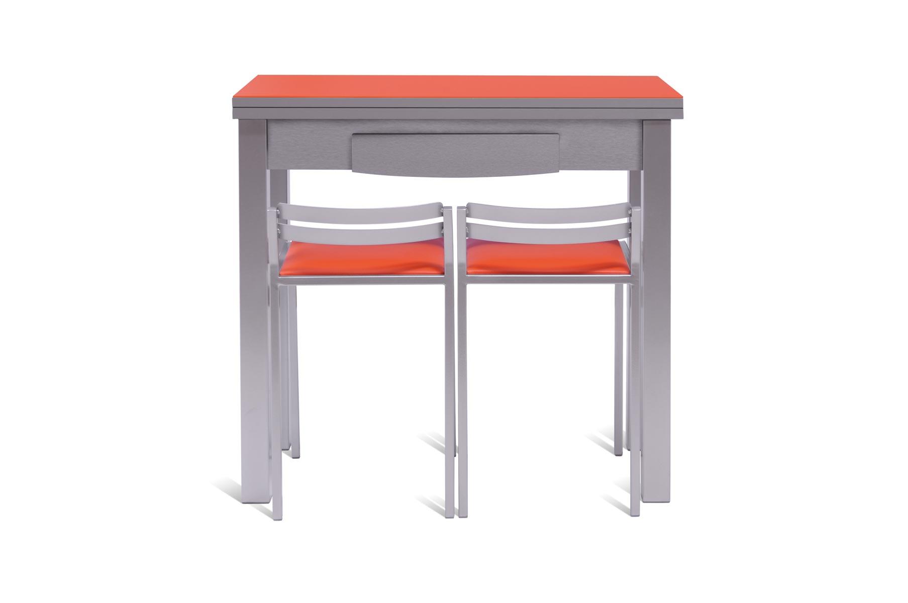Mesa de cocina peque a y extensible - Cocinas pequenas con mesa ...