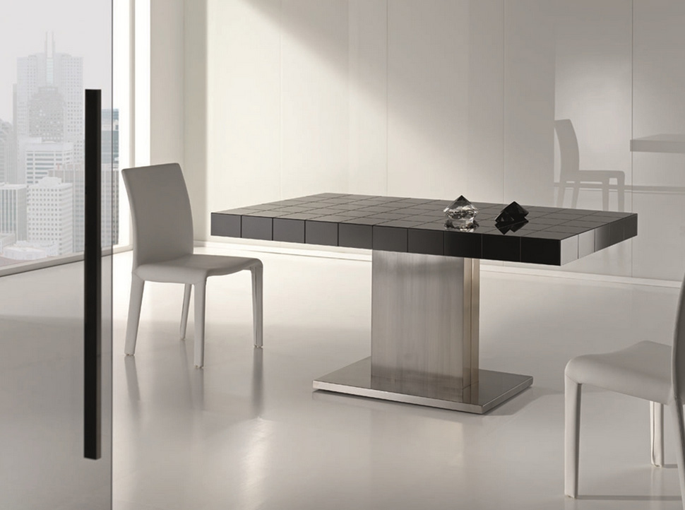 Lujosa mesa de comedor extensible - Lujosa mesa de comedor extensible