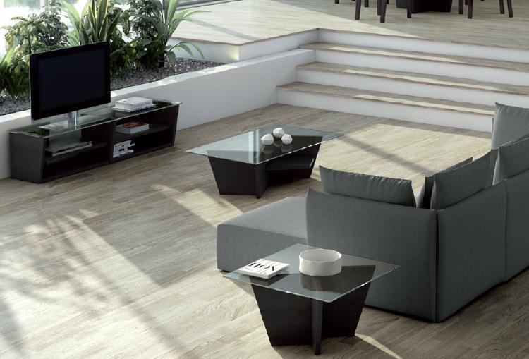 Mesas de centro madera y cristal muebles madrid muebles for Mesas de centro madera y cristal