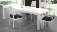 Mesa de comedor y sillas 520 - Mesa moderna
