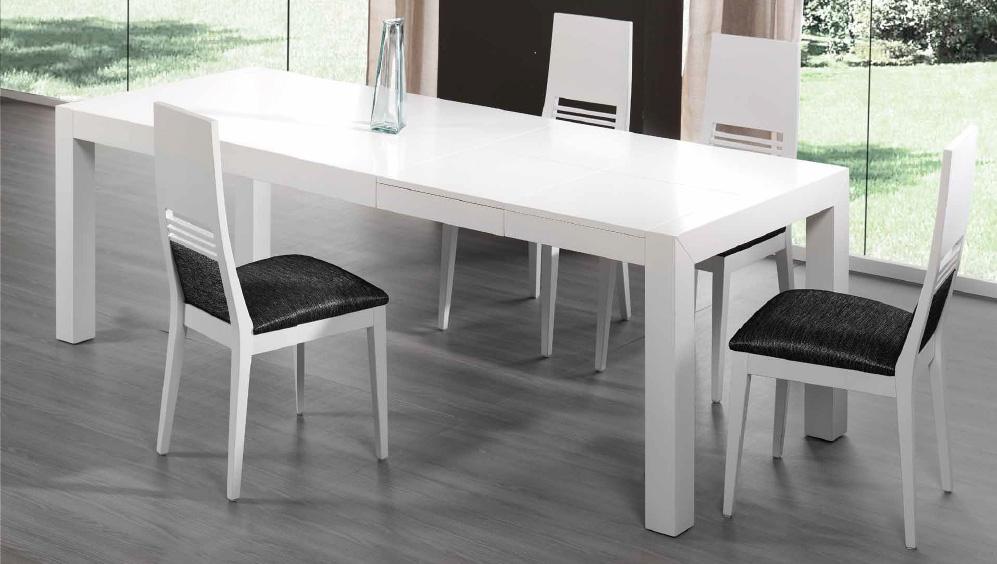 Silla moderna mesa comedor madrid for Sillas de comedor blancas modernas