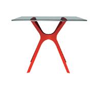 Mesa de diseño moderna - Mesa de diseño tapa de cristal
