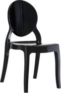 Silla Mia - Silla apilable moderna para interior y exterior
