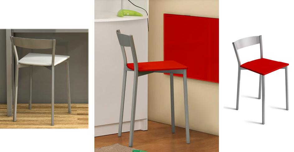 Mini silla de cocina for Sillas para cocina precios