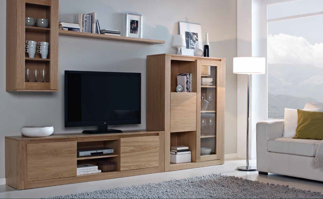 Mueble salon moderno narvik 5 mia home for Salon completo moderno