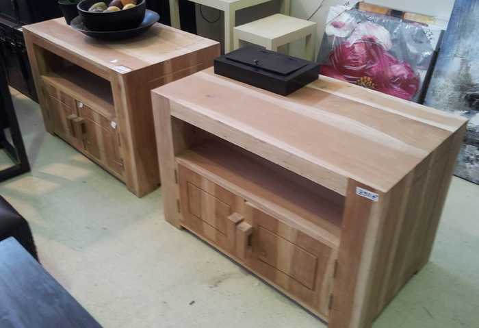 Mueble de tv madera natural for Nature muebles