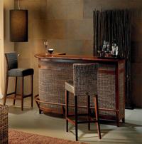 Mueble bar y taburete modelo MINESSOTA - Mueble bar y taburete modelo MINESSOTA
