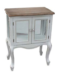 Mueble blanco madera paulownia CARPE - Mueble blanco madera paulownia CARPE